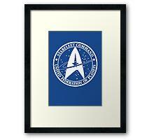 Star Trek - United Federation of Planets - logo Framed Print