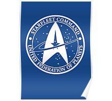 Star Trek - United Federation of Planets - logo Poster
