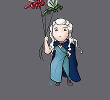 Chibi Daenerys by nicolealesart