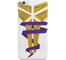 Kobe Polygon Art iPhone Case/Skin