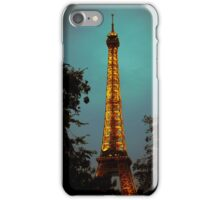 Tour Eiffel at Night iPhone Case/Skin
