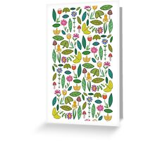 Flower Patch Light Greeting Card