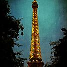 Tour Eiffel at Night by anniephoto