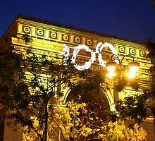 Arc de Triomphe 100th Tour De France by Alex Rentzis