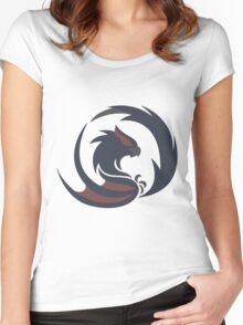 Lurking Predator - Nargacuga Women's Fitted Scoop T-Shirt