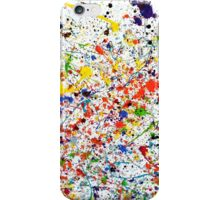 Tiki Splatter  iPhone Case/Skin