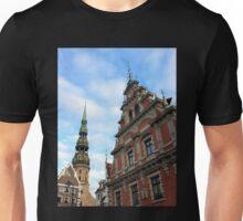 House of the Blackheads, Riga, Latvia Unisex T-Shirt