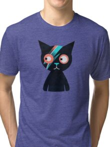 Flash Cat Tri-blend T-Shirt
