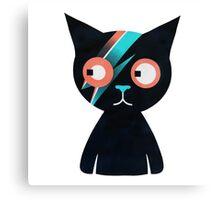 Flash Cat Canvas Print