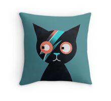 Flash Cat Throw Pillow