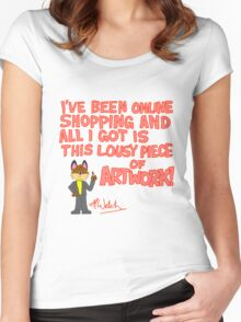 Art Tourism at its Best! Women's Fitted Scoop T-Shirt