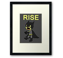 Knight of the Living Dead Framed Print