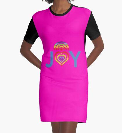 JOY RAINBOW  Graphic T-Shirt Dress
