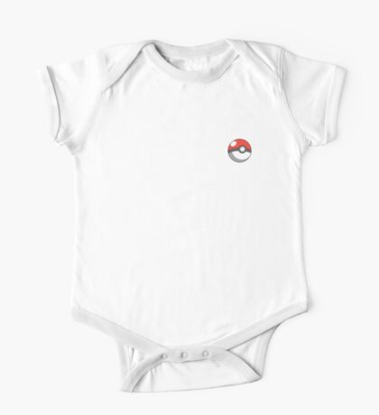 pokeball badge One Piece - Short Sleeve