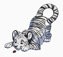 Little White Tiger Kids Clothes
