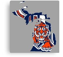 Detroit Tigers Canvas Print