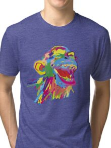 Laughing Ape – Multicoloured Tri-blend T-Shirt