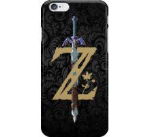 "The Legend of Zelda: Breath of the Wild - ""Z"" Logo iPhone Case/Skin"