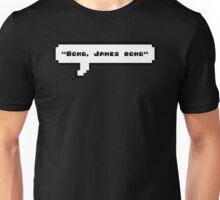 Bond, James bond Unisex T-Shirt