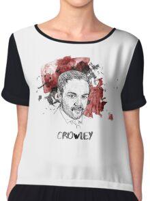 Crowley Supernatural Chiffon Top