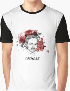Crowley Supernatural Graphic T-Shirt