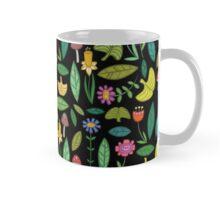 Flower Patch Dark Mug