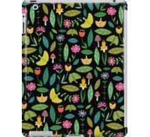 Flower Patch Dark iPad Case/Skin