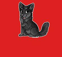 Little Wolf - Black Unisex T-Shirt