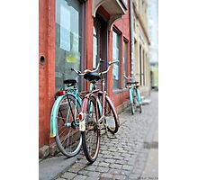 Bicycles in Copenhagen Photographic Print