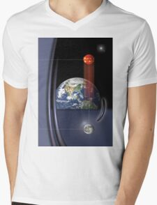 spherical trinity Mens V-Neck T-Shirt