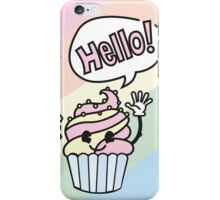 Cupcake - Hello iPhone Case/Skin