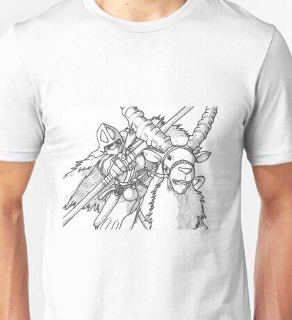 Ashitaka and Yakul Unisex T-Shirt