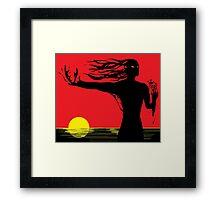 Sauron's Awakening Framed Print