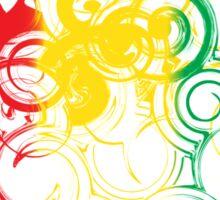 Rastafari love Sticker