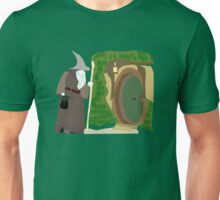 Theres a Wizard at the Door Unisex T-Shirt