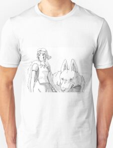 San The Wolf Princess Unisex T-Shirt
