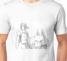 San The Wolf Princess Unisex T-Shirt