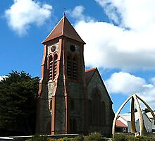 CHRIST CHURCH STANLEY-FALKLAND ISLAND by JAYMILO