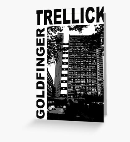 Trellick Tower, Erno Goldfinger Greeting Card