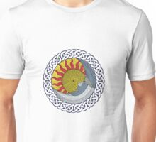 Celtic sun and moon Unisex T-Shirt