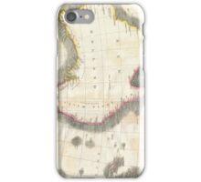 Vintage Map of Australia (1814) iPhone Case/Skin