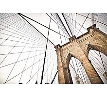Brooklyn Bridge, NY Photographic Print