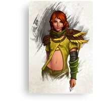 Lyralei the beauty of the Forest Canvas Print