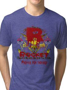 Team Rocket (Instinct Motto) Tri-blend T-Shirt