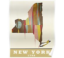 new york state map Poster