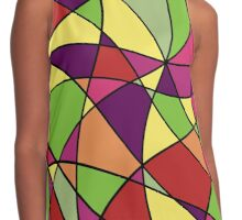 Colorful abstraction Contrast Tank