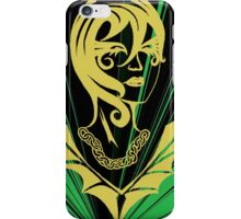 Sanity in Disguise (green) iPhone Case/Skin