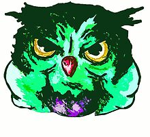 Hulk owl! by AderynValentine