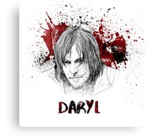 Daryl Dixon The Walking Dead Canvas Print