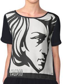Chopin modern art deco style Chiffon Top